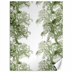 Trees Tile Horizonal Canvas 36  X 48