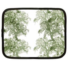 Trees Tile Horizonal Netbook Case (xl)