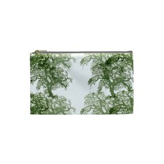 Trees Tile Horizonal Cosmetic Bag (small)