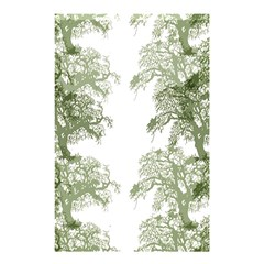 Trees Tile Horizonal Shower Curtain 48  X 72  (small)