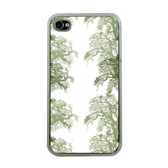 Trees Tile Horizonal Apple Iphone 4 Case (clear)
