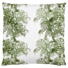 Trees Tile Horizonal Large Cushion Case (one Side)