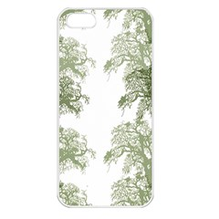 Trees Tile Horizonal Apple Iphone 5 Seamless Case (white)