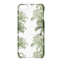Trees Tile Horizonal Apple Ipod Touch 5 Hardshell Case With Stand