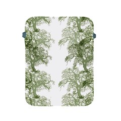 Trees Tile Horizonal Apple Ipad 2/3/4 Protective Soft Cases