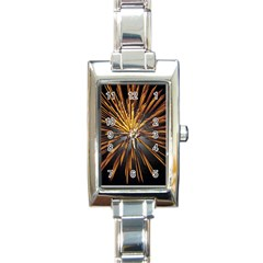 Pyrotechnics Thirty Eight Rectangle Italian Charm Watch