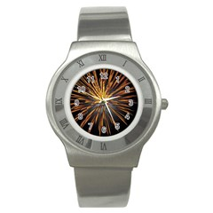 Pyrotechnics Thirty Eight Stainless Steel Watch