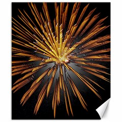 Pyrotechnics Thirty Eight Canvas 8  X 10