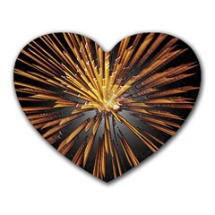 Pyrotechnics Thirty Eight Heart Mousepads
