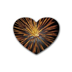 Pyrotechnics Thirty Eight Heart Coaster (4 Pack)