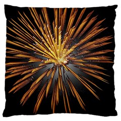 Pyrotechnics Thirty Eight Large Flano Cushion Case (two Sides)