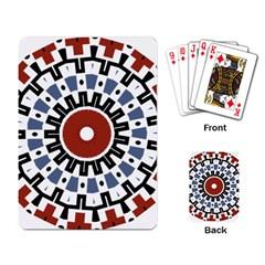 Mandala Art Ornament Pattern Playing Card