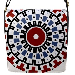 Mandala Art Ornament Pattern Flap Messenger Bag (s)