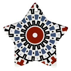 Mandala Art Ornament Pattern Ornament (star)