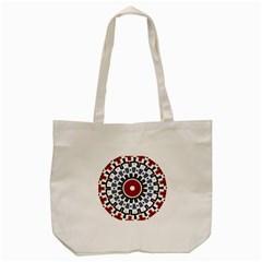 Mandala Art Ornament Pattern Tote Bag (cream)