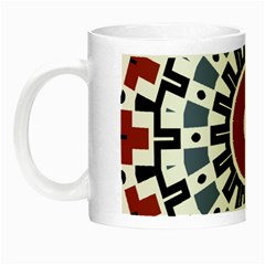 Mandala Art Ornament Pattern Night Luminous Mugs