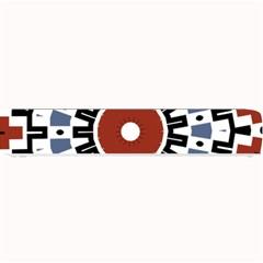 Mandala Art Ornament Pattern Small Bar Mats