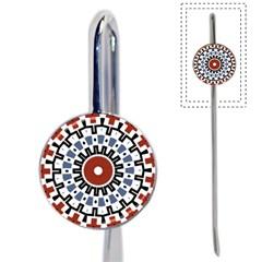 Mandala Art Ornament Pattern Book Mark