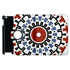 Mandala Art Ornament Pattern Apple Ipad 2 Flip 360 Case