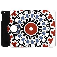 Mandala Art Ornament Pattern Apple Ipad Mini Flip 360 Case