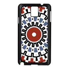 Mandala Art Ornament Pattern Samsung Galaxy Note 3 N9005 Case (black)