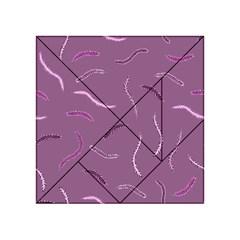 Plumelet Pen Ethnic Elegant Hippie Acrylic Tangram Puzzle (4  X 4 )