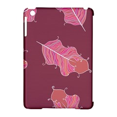 Plumelet Pen Ethnic Elegant Hippie Apple Ipad Mini Hardshell Case (compatible With Smart Cover)