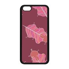 Plumelet Pen Ethnic Elegant Hippie Apple Iphone 5c Seamless Case (black)