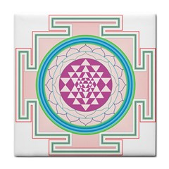 Mandala Design Arts Indian Tile Coasters