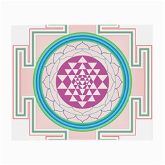 Mandala Design Arts Indian Small Glasses Cloth