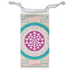Mandala Design Arts Indian Jewelry Bag