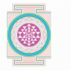 Mandala Design Arts Indian Large Garden Flag (two Sides)