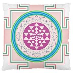 Mandala Design Arts Indian Large Cushion Case (one Side)