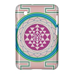 Mandala Design Arts Indian Samsung Galaxy Tab 2 (7 ) P3100 Hardshell Case