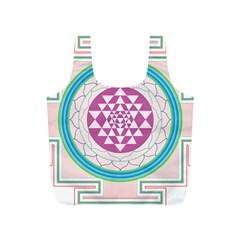 Mandala Design Arts Indian Full Print Recycle Bags (s)
