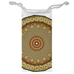 Mandala Art Ornament Pattern Jewelry Bag
