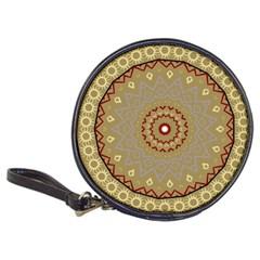 Mandala Art Ornament Pattern Classic 20 Cd Wallets