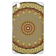 Mandala Art Ornament Pattern Samsung Galaxy Tab Pro 8 4 Hardshell Case