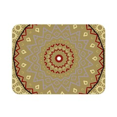 Mandala Art Ornament Pattern Double Sided Flano Blanket (mini)