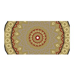 Mandala Art Ornament Pattern Satin Wrap