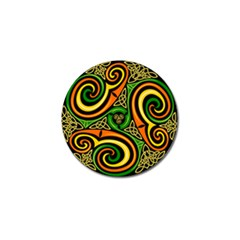 Celtic Celts Circle Color Colors Golf Ball Marker (4 Pack)