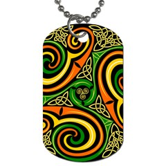 Celtic Celts Circle Color Colors Dog Tag (two Sides)