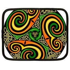 Celtic Celts Circle Color Colors Netbook Case (xl)