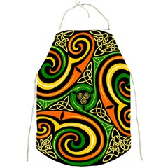Celtic Celts Circle Color Colors Full Print Aprons
