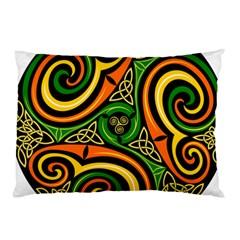 Celtic Celts Circle Color Colors Pillow Case (two Sides)