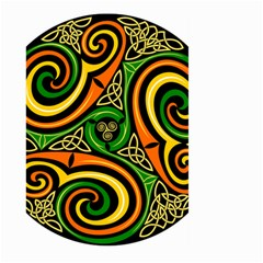 Celtic Celts Circle Color Colors Large Garden Flag (two Sides)