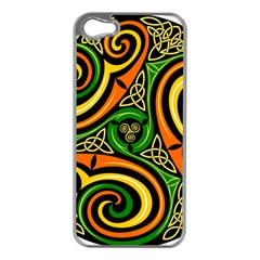 Celtic Celts Circle Color Colors Apple Iphone 5 Case (silver)