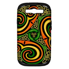 Celtic Celts Circle Color Colors Samsung Galaxy S Iii Hardshell Case (pc+silicone)