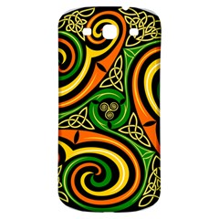 Celtic Celts Circle Color Colors Samsung Galaxy S3 S Iii Classic Hardshell Back Case
