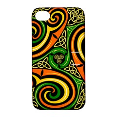 Celtic Celts Circle Color Colors Apple Iphone 4/4s Hardshell Case With Stand